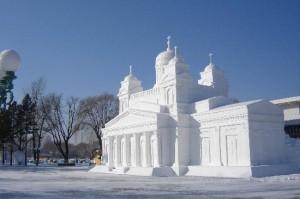 snow-church