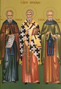 cuviosul Simeon si Ioan pustnicul