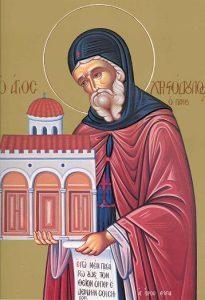 Icoana Sfantul Cuvios Hristodul din Patmos